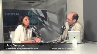 Ana Velasco, candidata a las primarias de VOX. 19-3-2014