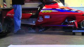9. XC SP 600 Stock Exhaust vs. MBRP race Can