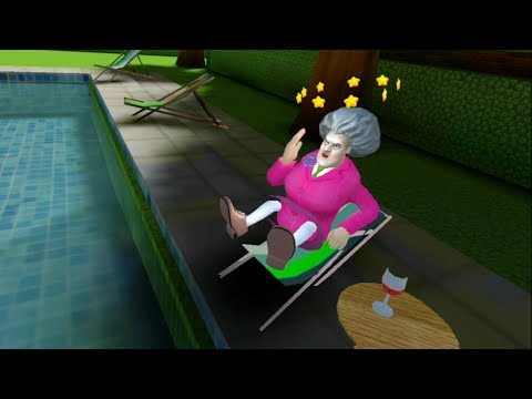 Scary Teacher 3D Version 5.0.41 | Sun-Bath Prank