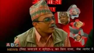 Nepali Gai Jatra, Kp Oli and Baburam Bhattari