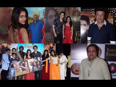 Anu Malik | Manoj Joshi | At Music & Trailer Launch Film Love You Family