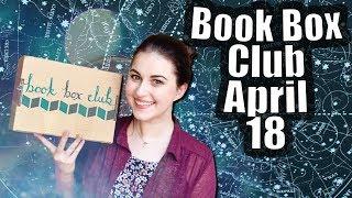 BOOK BOX CLUB UNBOXING APRIL 2018 | Book Roast