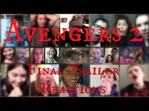 "Avengers 2: ""age Of Ultron"" - Final Trailer 3 (reaction Mashup) ~ Autogated Audio"