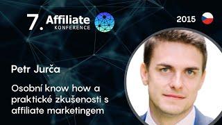 Foto z akcie Affiliate konference prednáša Petr Jurča.