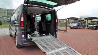 Podlahový systém M1 + Multifunkční sedadla 004 ve voze OPEL Vivaro-B, BRG
