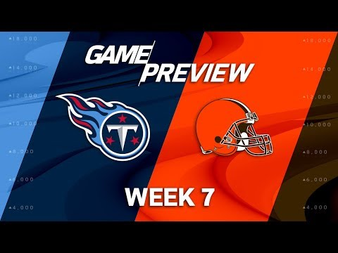 Video: Tennessee Titans vs. Cleveland Browns | Week 7 Game Preview | NFL