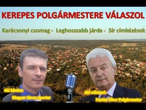 Kerepes Polgármestere válaszol 23. - 2016.11.08. - Karácsony - Új járda - Temető cimkézés