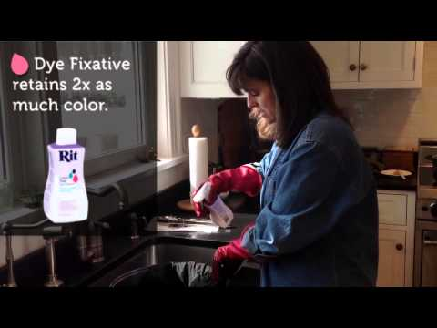 Rit Dye 101 - Dyeing with Black