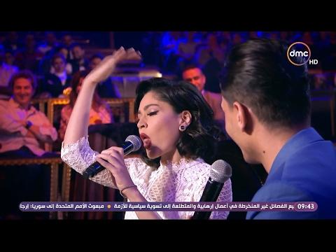شاهد- ندا موسى ترد على معاكسة محمد عساف بطريقة بنت البلد