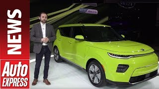 New Kia Soul - the small quirky SUV jumps on the EV bandwagon by Auto Express