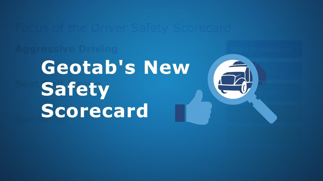 A video showing how Driver Safety Scorecard Report works.