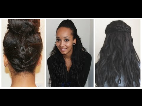 3 Quick and Easy Hairstyles for School or Work!