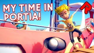 "Let's play My Time in Portia gameplay video showing off the first 30 minutes of this upcoming RPG's first alpha demo.► Subscribe: http://bit.ly/RandomiseUser► Patreon exclusives: https://www.patreon.com/randomiseuserDownload the free My Time in Portia alpha: http://gamejolt.com/games/portia/264600In this episode of Alpha Soup we take a look at an upcoming RPG with a hint of Harvest Moon. This let's play My Time in Portia gameplay video takes a look at the first 30 minutes of the free alpha demo, from disembarking the ship to acquiring your workshop licence.We meet several NPCs and get to know them by giving them gifts, having a chat or trying to punch them in the face over and over again. We take a look around the village and the surrounding farms, standing on cows and making ducks dance because we can. We also check out the first few missions in this let's play My Time in Portia gameplay video.=====Thanks for watching this let's play My Time in Portia gameplay video! Watch more of the best indie alpha games:New city-builder Community INC: https://www.youtube.com/watch?v=8oimQwGMaRs&index=2&list=PLLvo6-XrH1flWq5KRBP8GhUqcGxJT5cPBRogue Islands is an action-roguelike Minecraft! https://www.youtube.com/watch?v=GhUmO1h0YKM&list=PLLvo6-XrH1flWq5KRBP8GhUqcGxJT5cPB&index=5YOU host the party in Party Hard Tycoon: https://www.youtube.com/watch?v=vYsy3hhAVps&list=PLLvo6-XrH1flWq5KRBP8GhUqcGxJT5cPB&index=1=====Official My Time in Portia gameplay info:""My Time at Portia is a simulation open world RPG game. The world is set in a post-apocalypse setting. Humans are few and relics from the past are everywhere. The player will need to start a new life in a town on the edge of civilization called Portia. The player will start a workshop and build things with relics from the past for the betterment of society. The goal of the game is to make the workshop as big as possible.""Game version: alpha 1.0Developed by: Pathea GamesFormats available: PC WindowsFree alpha download: http://gamejolt.com/games/portia/264600=====Randomise User is the home of the best indie games:► Watch Let's Play one-offs for the best new games: https://www.youtube.com/playlist?list=PLLvo6-XrH1fnvqfQI4mhyXJu5Y7hcS5vC► Watch Alpha Soup for your first look at games: https://www.youtube.com/playlist?list=PLLvo6-XrH1flWq5KRBP8GhUqcGxJT5cPB► Watch Weird Indie for strange & funny gameplay: https://www.youtube.com/playlist?list=PLLvo6-XrH1fmiyuOquPzGzqUFasi7iy7x► Subscribe here: http://bit.ly/RandomiseUser► Live streams: https://www.youtube.com/c/randomiseuser/live► Support us on Patreon: https://www.patreon.com/randomiseuser► Follow us on Twitter: https://twitter.com/RandomiseUser"