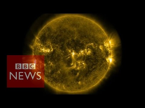 solar - The US Space Agency Nasa has released new footage showing a series of powerful solar flares. There have been a number of eruptions on the surface of the sun in the last week. Some have warned...
