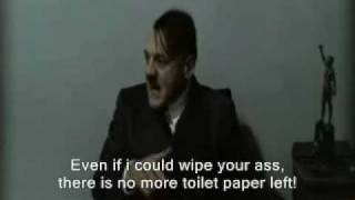 Hitler is informed that Gunche had an accident