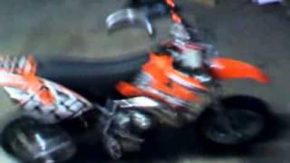 7. 2007 KTM 50 Lc Pro Jr