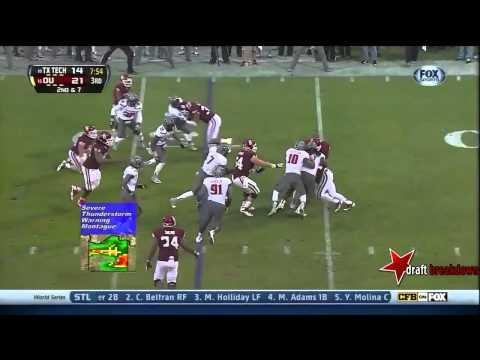 Kerry Hyder vs Oklahoma 2013 video.