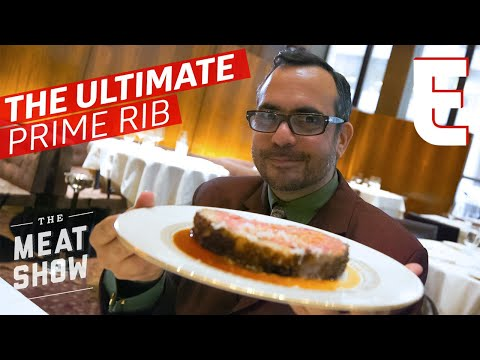 How The Perfect Prime Rib Is Made At New York's The Grill — The Meat Show