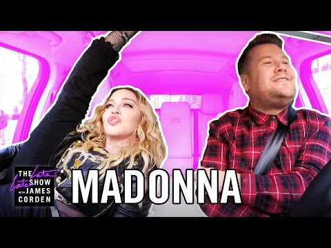 Carpool Karaoke with Madonna