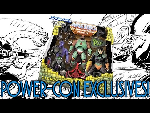 Masters of the Universe Classics Power-Con 2017 Exclusives Image & Info Reveal