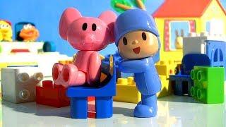 Pocoyo português Brasil - Pocoyo Picnic Blocks Merienda Bloques Lego Duplo Toys Lanchinho