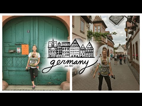 AU PAIR TAKES GERMANY // HIKING AND EXPLORING NEW TOWNS