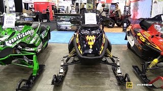 7. 2004 Ski-Doo MXZ 500 SS Snowmobile - Walkaround - 2014 Toronto ATV Show