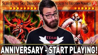 DUEL LINKS ANNIVERSARY! THE BEST TIME TO START! | YuGiOh Duel Links Mobile & Steam W/ ShadyPenguinn