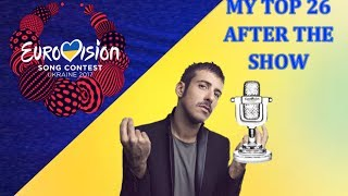 Video Eurovision 2017 My top 26 [After the Show] MP3, 3GP, MP4, WEBM, AVI, FLV Mei 2017