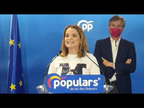 "Prohens: ""Armengol se ha convertido en el principal problema para Balears"""