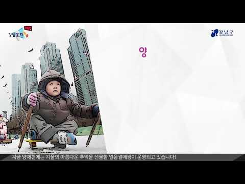 강남문화톡톡 - 1월 행사 일정