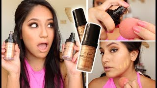 I've been using this LA Girl Pro Coverage HD Foundation for moooonths now! I bought a bunch of stuff from LA Girl and wanted to try this high definition foundation out and omg! So because there are soo many different skin types and tones, this isn't for everyone but it is near perfect for me! I find the color looks great on my olive skintone in direct sun (where most drugstore foundations fall short) and doesn't slide off my face (actually long wearing!). I hope you enjoy this demo and review of my favorite foundation as of lately! Let me know any other foundations or drugstore/highend makeup that you want to see!!The shades I use:Nude Beige: http://go.magik.ly/ml/5o5j/Soft Honey: http://go.magik.ly/ml/5o5k/-----HOT Weather Makeup HACKS & TIPS!: https://youtu.be/fLu90D92C7oWANNA GET TO KNOW ME EVEN BETTA?? *Instagram: theresahuaroto*Snapchat: theresamariaxox*Twitter: https://twitter.com/#!/theresahuaroto*Facebook: http://www.facebook.com/theresahuaroto*Blog: http://theresahuarotoxo.blogspot.com/*Tumblr: http://theresahuaroto.tumblr.com/*Pinterest: theresahuaroto__________________________________If you have an ideas for new videos or tags, questions etc please message me and let me know!! I love hearing from you guys and you mean the world to meee!!!Subscribe if you haven't and I will looooove you, pinky promise!!!**Any business inquires you can email me at thr4492@live.com, any other inquires hit me up on the links above!__________________________________FTC Disclaimer: The video is not sponsored and as always all opinions are my own!