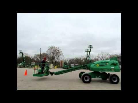 Sold! 2006 JLG 400S 40' 4x4 Boom Lift Man Aerial Work Platform bidadoo.com