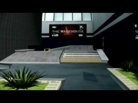 Skate 3 - The Warehouse Skate Park