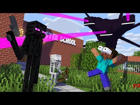 Monster School  HOW TO WIN WITHER STORM Challenge - Minecraft Animation