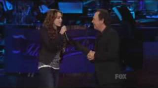 Miley Cyrus Hot Video on American Idol 2008 Gives Back Shows part 2