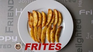 Des frites dorées, sans friteuse