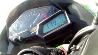 1. Kawasaki Ninja 300 TOP SPEED - 191 km/h 118 mph