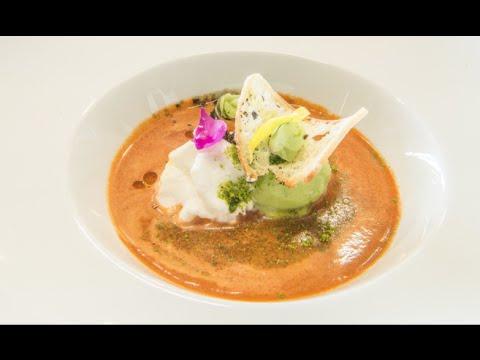 tomato soup (gazpacho) frozen