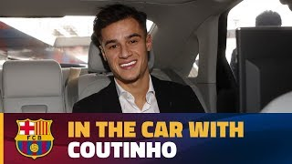 Download Video Coutinho's chat in the car on his way to the Camp Nou! MP3 3GP MP4