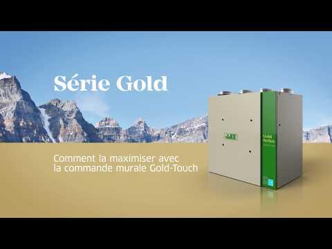 Maximiser la ventilation en utilisant la nouvelle commande murale de la Série Gold
