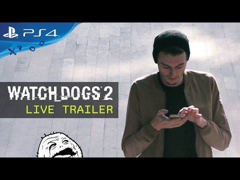 Watch Dogs 2  Live Trailer