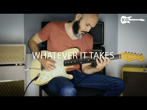 Video Imagine Dragons - Whatever It Takes - Electric Guitar Cover by Kfir Ochaion download in MP3, 3GP, MP4, WEBM, AVI, FLV January 2017