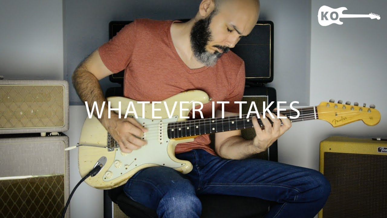 Imagine Dragons – Whatever It Takes – Electric Guitar Cover by Kfir Ochaion