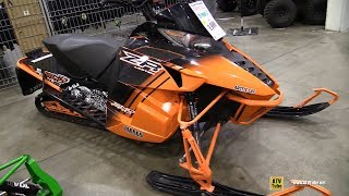 5. 2014 Arctic Cat ZR 9000 Limited Sled - Walkaround - 2017 Toronto Snowmobile ATV Show