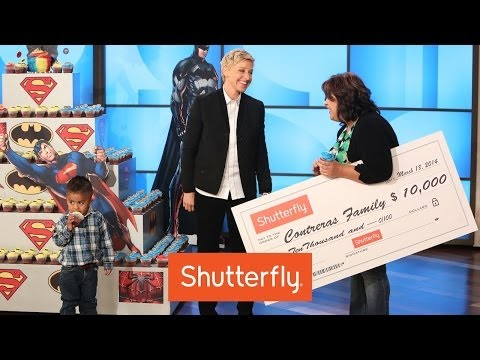 Cupcake Kid Gets Awesome Reward From Ellen