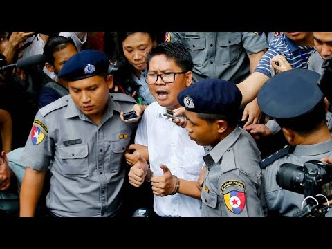 Myanmar: Reuters-Reporter wurde zu sieben Jahren Haft verurteilt
