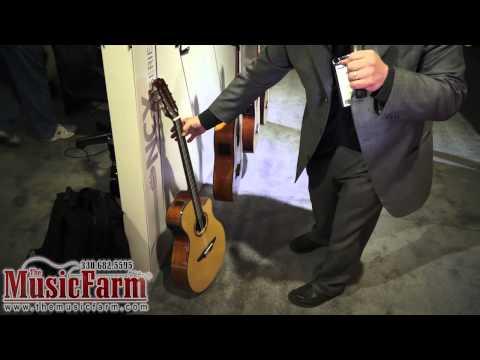 Winter NAMM '12 - Yamaha NCX & NTX Series Acoustic Electric Guitars (видео)