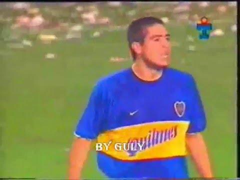 VIDEO LO MEJOR DE RIQUELME EN LA LIBERTADORES 2000