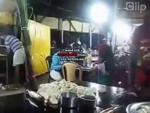 Phục vụ bá đạo ở quán ăn Indonesia